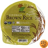eamed Brown Rice Bowl, Organic, Microwaveable, 7.4-Ounce Bowls (Pack of 12): Amazon.com