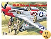 ICM Models USAAF Filots and Ground Personnel 1941-1945 Building Kit