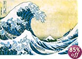 The Great Wave at Kanagawa , c.1829 Poster Print by Katsushika Hokusai, 36x24