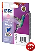 Epson Original T0806 Light Magenta Ink Cart
