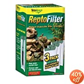 Tetra 25845 ReptoFilter Filter Cartridges, Medium, 3-Pack