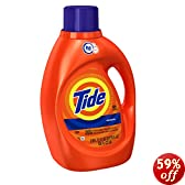Tide HE Original Scent, 100-Ounce Bottles (Pack of 4)