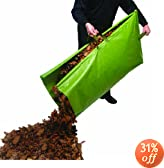 Leaf Collector Tripod Bag (46 x 24 high) - dark green polyethylene