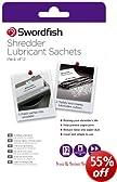 Swordfish Shredder Oil Lubrication Sachets - Suitable for all Paper Shredders (Pack of 12) ref 40015