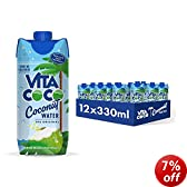 Vita Coco 100% Natural Coconut Water 330ml (Pack of 12)