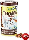 Tetra 708914 TetraMin, Hauptfutter f�r alle Zierfische in Flockenform, f�r ein langes und gesundes Fischleben, 1 L