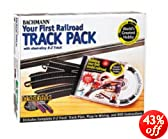 Bachmann Trains Snap - Fit E - Z Track Steel Alloy World's Greatest Hobby Track Pack