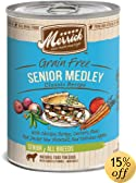 Merrick Senior Medley Dog Food 13.2 oz (12 count case)