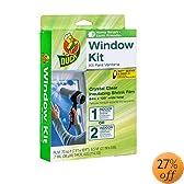 Duck Brand  Indoor Extra Large Window/Patio Door Shrink Film Kit, 84-by-120-Inch