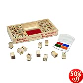 Melissa & Doug Deluxe Alphabet Stamp Set