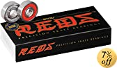 Bones Bearings REDS Skate Bearings (8mm, 16-Pack)