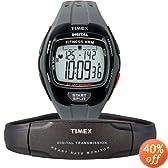 Timex T5J031 Unisex Digital Fitness Heart Rate Monitor Watch: Timex