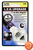 Nite Ize LRB-07-1W-SC 1-Watt LED Bulb Upgrade/Replacement for AA Mini Flashlight