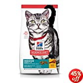 Hill's Science Diet Adult Indoor Dry Cat Food, 3.5-Pound Bag
