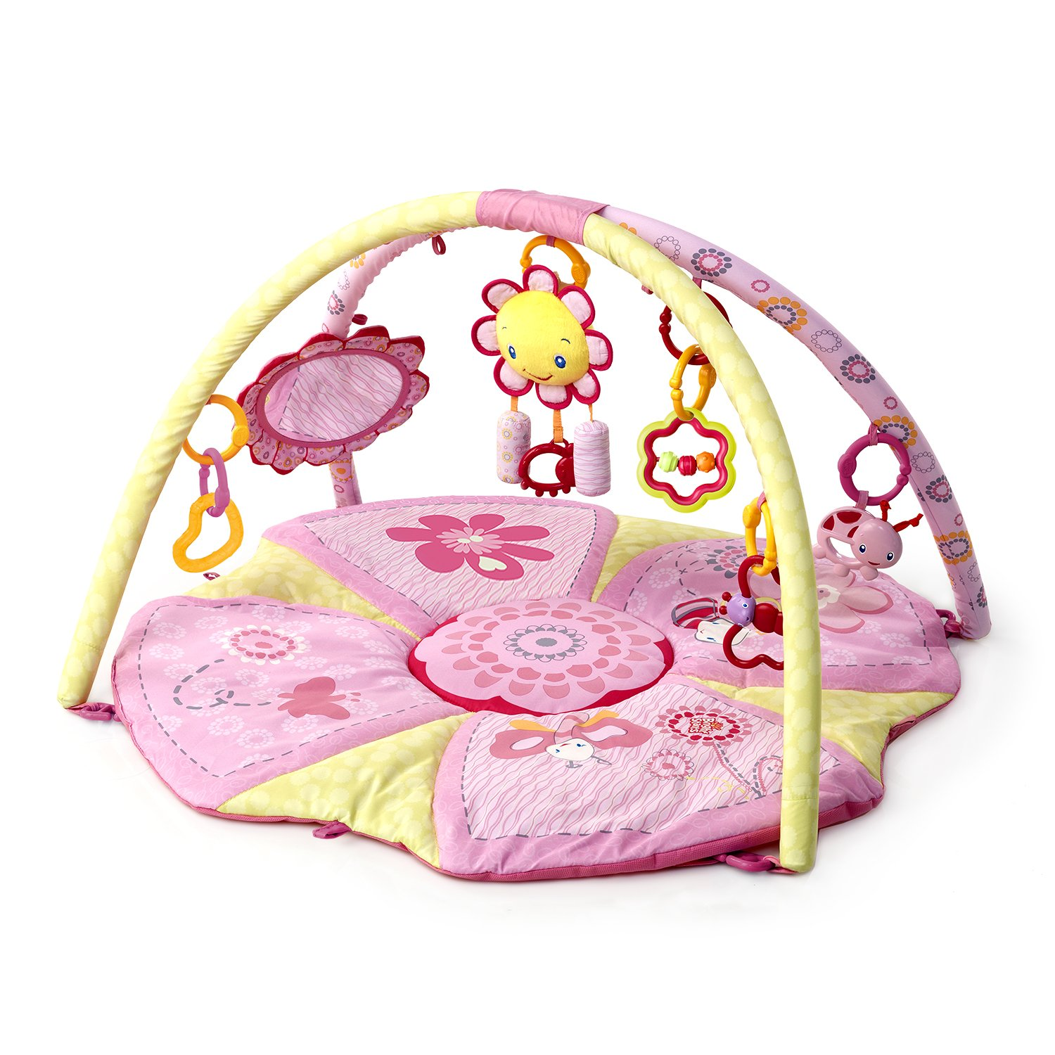 New Toy Bright Starts Pretty In Pink Supreme Play Gym