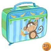 Stephen Joseph Square Lunch Box Monkey