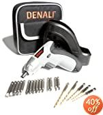 Denali 3.6-Volt Lithium-Ion Cordless Screwdriver Kit with Wall-Mountable Charger