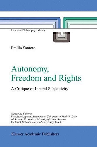 autonomy-freedom-and-rights-a-critique-of-liberal-subjectivity-law-and-philosophy-library