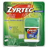 Select Zyrtec Allegery Relief Products, $18.99