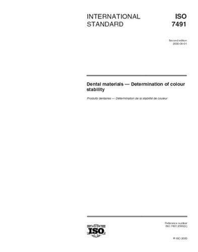 iso-74912000-dental-materials-determination-of-colour-stability