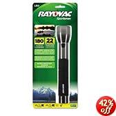 Rayovac Sportsman 180 Lumen 3C LED Flashlight (SE4W3CA)