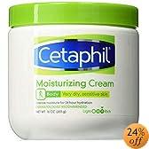 Cetaphil Moisturizing Cream for Dry, Sensitive Skin, Fragrance Free, Non-comedogenic (20 Oz)