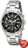 Casio Men's AMW330D-1AV Stainless Steel Watch with Link Bracelet