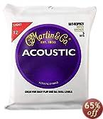 Martin マーチン アコースティックギター弦 M-140PK3 ライト3セットパック 【国内正規品】