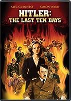 Hitler: The Last Ten Days by Mischa…
