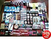 Wholesale lot of 100pc assorted Designer make up and cosmetics
