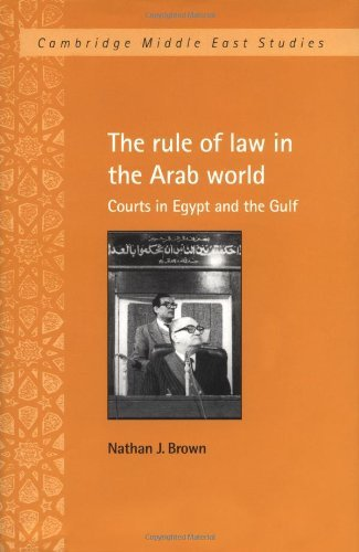 the-rule-of-law-in-the-arab-world-courts-in-egypt-and-the-gulf-cambridge-middle-east-studies