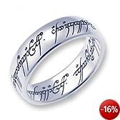 Herr der Ringe Schmuck by Schumann Design Der eine Ring Edelstahl poliert Rg 60 1000-060