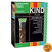 lmond Cashew + Omega-3, Nutritional Boost, Gluten Free Bars (Pack of 12): Amazon.com