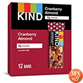 ranberry Almond + Antioxidants, Nutritional Boost, Gluten Free Bars (Pack of 12): Amazon.com