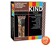 lmond Walnut Macadamia + Protein, Nutritional Boost, Gluten Free Bars (Pack of 12): Amazon.com