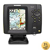 Humminbird 587ci 4.5-Inch Waterproof Marine GPS and Chartplotter with Sounder