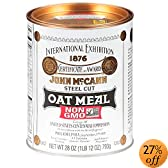 Steel Cut Irish Oatmeal, 28-Ounce Tins (Pack of 4): Amazon.com