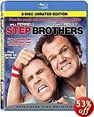 Step Brothers (2-Disc Unrated Edition) [Blu-ray]: Will Ferrell, John C. Reilly, Mary Steenburgen, Richard Jenkins, Wayne Federman, Ian Roberts, Brent White, Danielle Schneider, Paula Killen, Phil LaMa