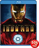 Iron Man (Ultimate Two-Disc Edition + BD Live) [Blu-ray]: Robert Downey Jr., Gwyneth Paltrow