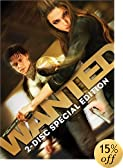 Wanted (Two-Disc Special Edition): Angelina Jolie, James McAvoy, Morgan Freeman, Terence Stamp, Thomas Kretschmann, Common, Kristen Hager, Marc Warren, David O&#39;Hara, Konstantin Khabenskiy, Dato Ba