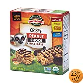 rganic Lemur Peanut Choco Drizzle Crispy Rice Bar, 6-Count Bars (Pack of 6): Amazon.com