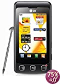 LG KP500 Cookie Unlocked Phone (Black)--International Version with No Warranty