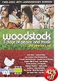 Woodstock: 3 Days of Peace & Music Director's Cut (40th Anniversary Two-Disc Special Edition): Joan Baez, Richie Havens, Roger Daltrey, Joe Cocker, Country Joe McDonald, Arlo Guthrie, Jimi Hen