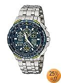 """Citizen Men's JY0050-55L """"Blue Angels Skyhawk A-T"""" Titanium Eco-Drive Watch"""