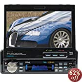 Boss BV9990 7-Inch In-Dash Motorized Widescreen Touchscreen TFT Monitor/DVD/MP3/CD Combo Receiver