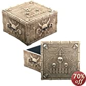 Ossuary Jewelry Box - Collectible Skeleton Gothic Container Skull