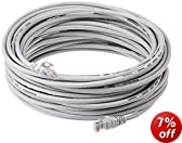 AmazonBasics RJ45 Cat5e Ethernet Patch Cable 50 Feet / 15.2 m