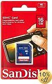 SanDisk Flash 16 GB SDHC Flash Memory Card SDSDB-016G (Label May Change)