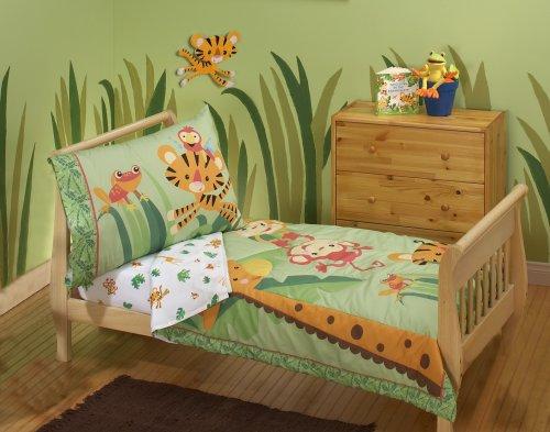 Fisher Price Rainforest Toddler Bedding