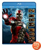 Iron Man 2 (Three-Disc Blu-ray/DVD Combo + Digital Copy): Robert Downey Jr., Mickey Rourke, Don Cheadle, Scarlett Johansson, Samuel L. Jackson, Gwyneth Paltrow, Sam Rockwell, Jon Favreau